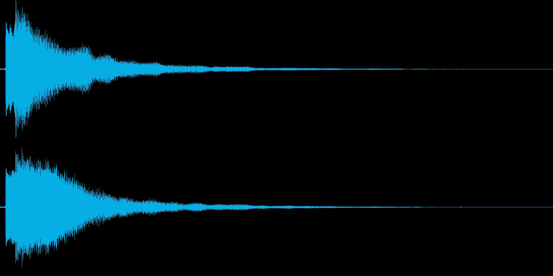 【ギター】Dmコードの再生済みの波形