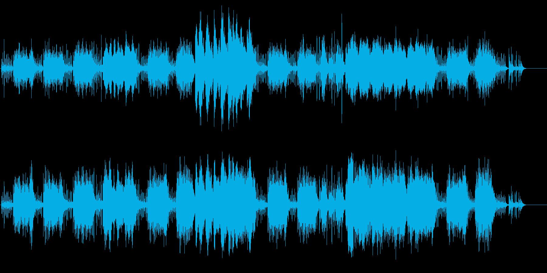 少女らしさの似合う不思議音楽の再生済みの波形