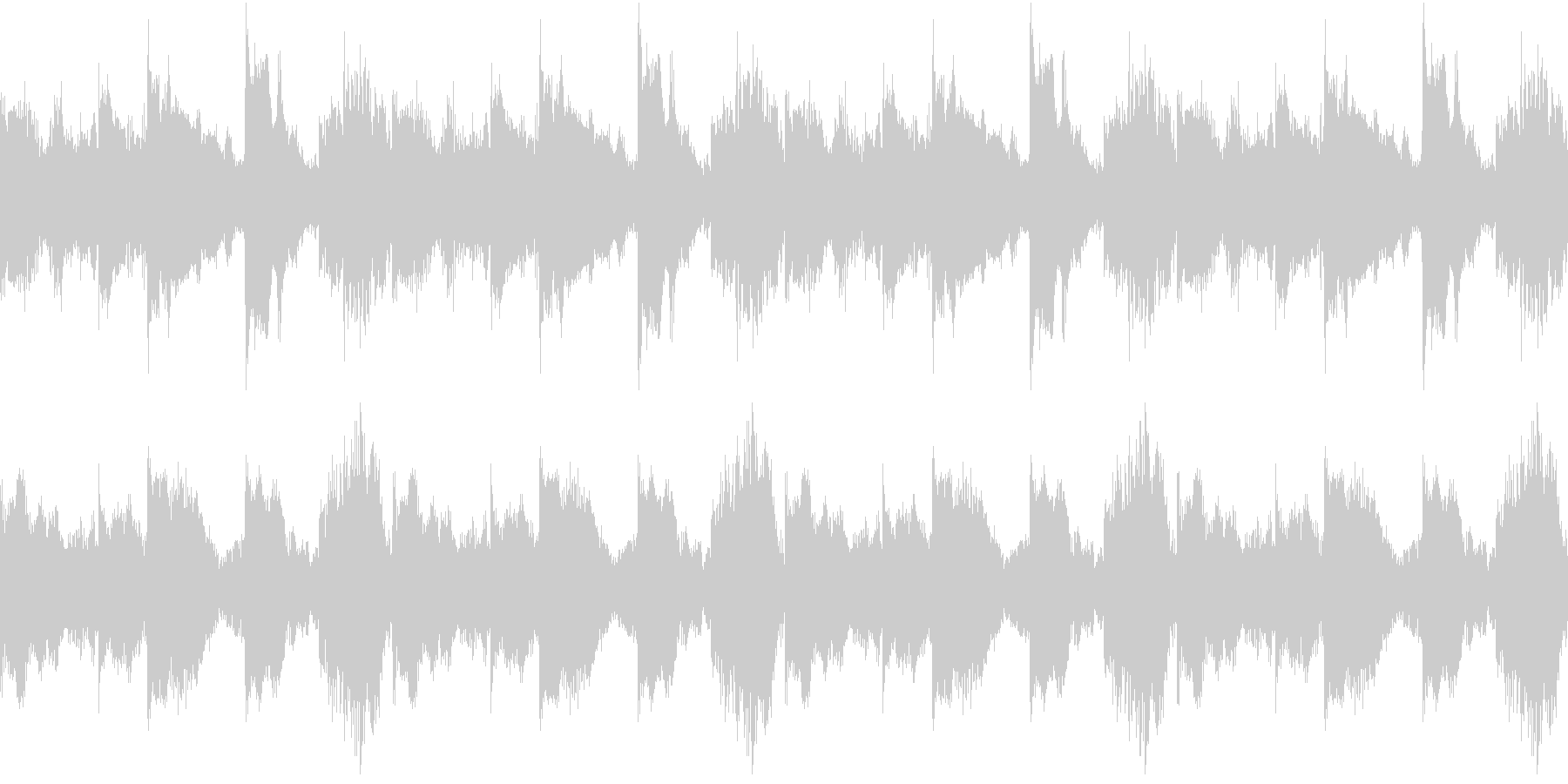 House コードシンセ 3 音楽制作用の未再生の波形