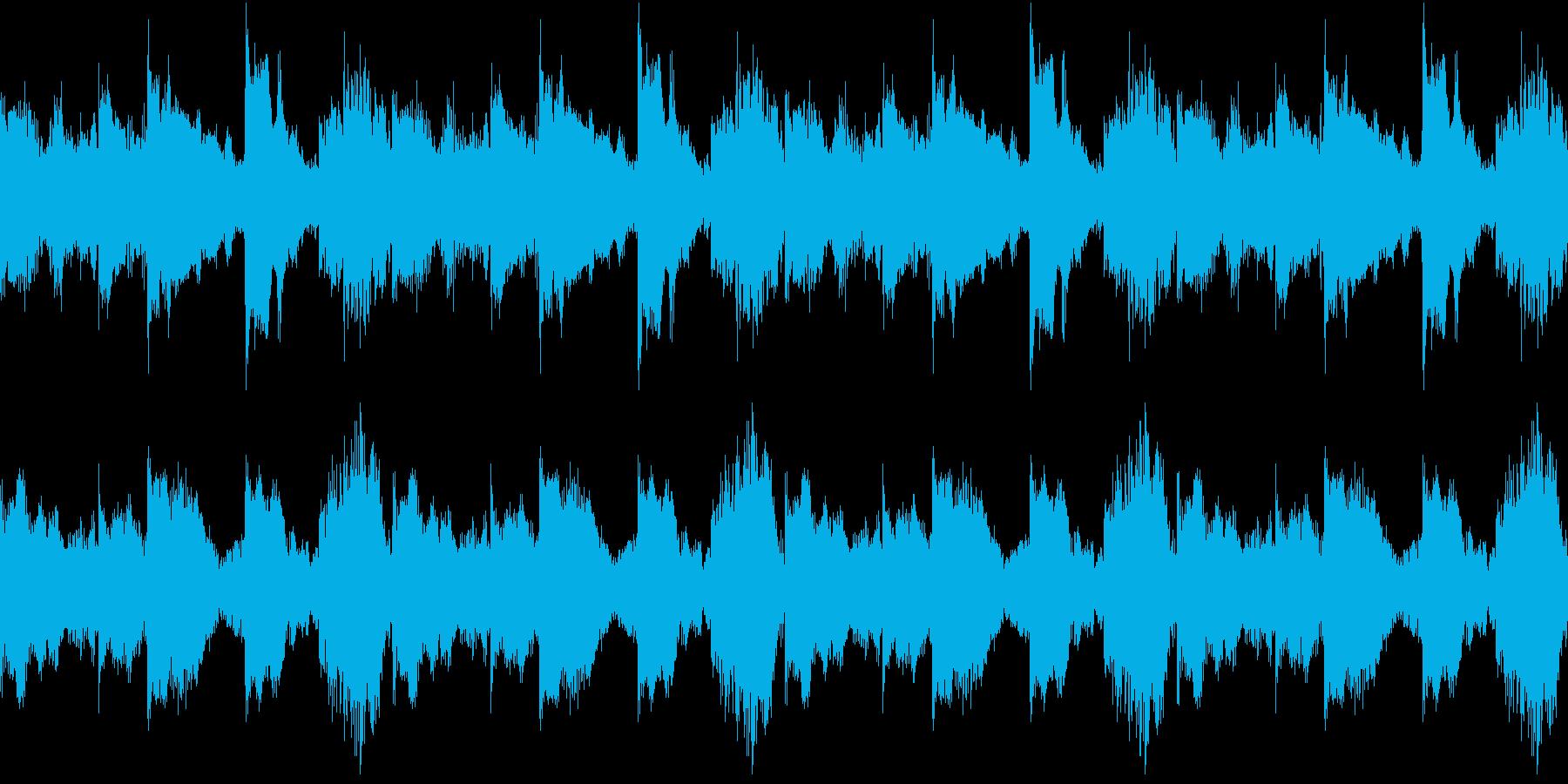 House コードシンセ 3 音楽制作用の再生済みの波形