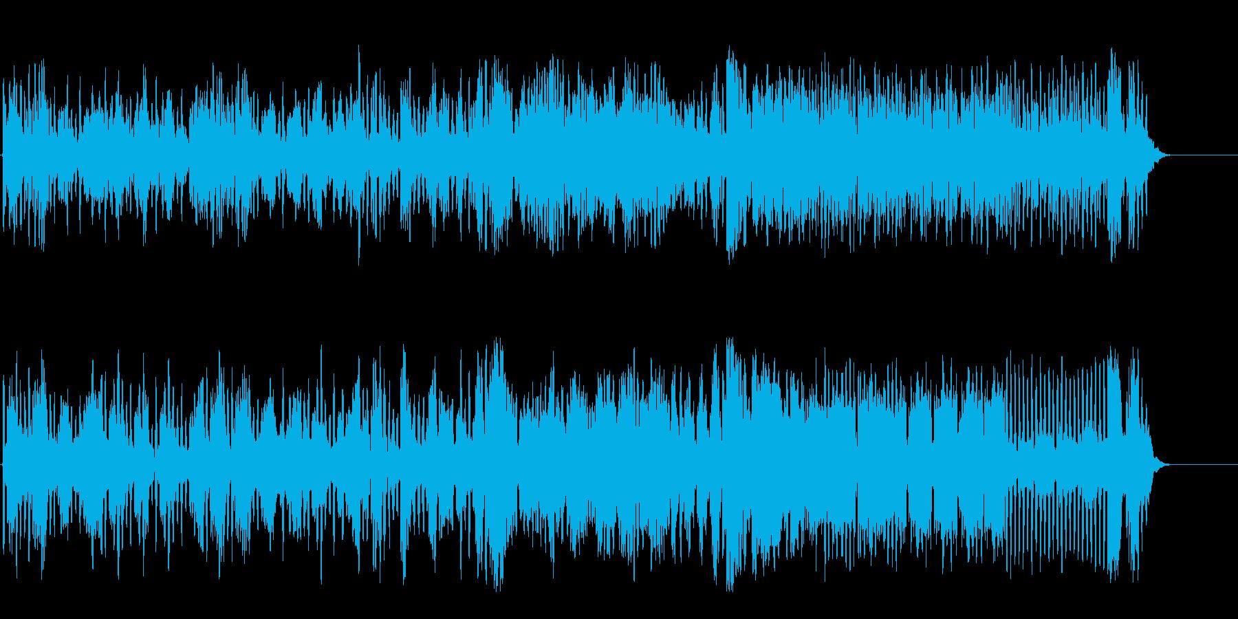 フルートアンサンブルの可憐なクラシックの再生済みの波形