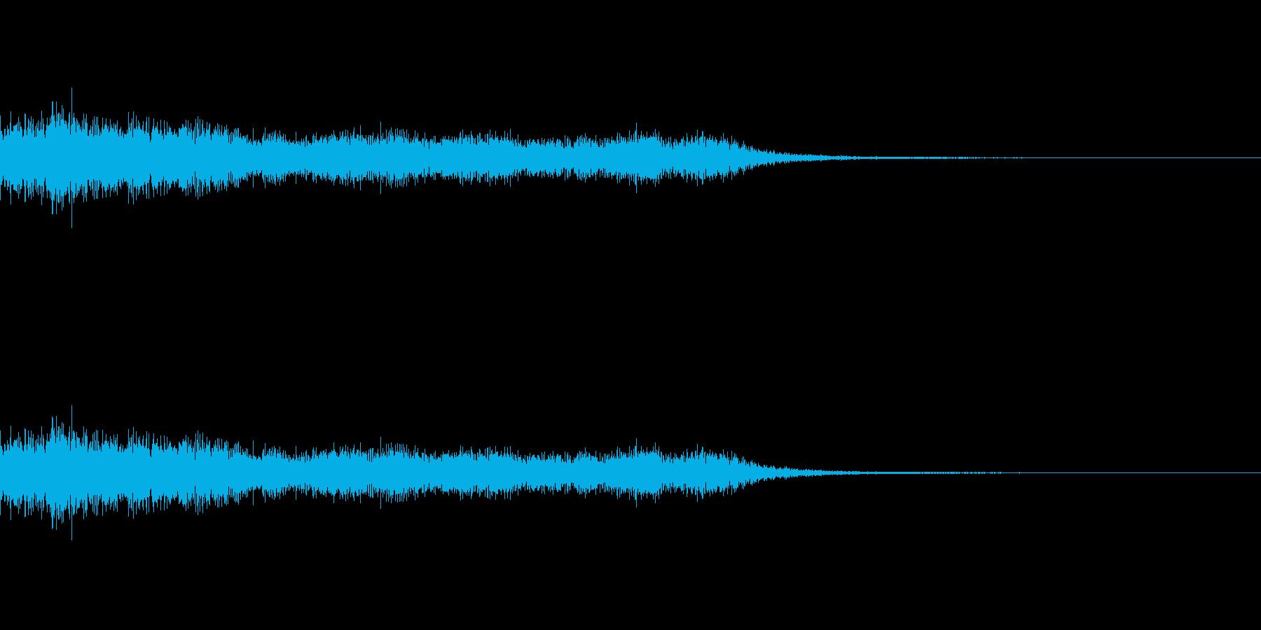ショック/衝撃/オーケストラヒット/1の再生済みの波形