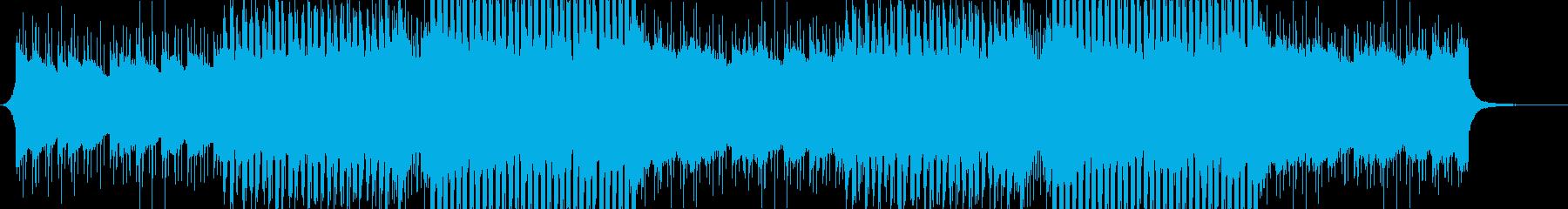 洋楽感のある夏らしいトロピカルハウス2の再生済みの波形