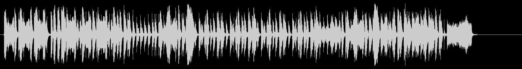 フィンガースナップの効いたアカペラの未再生の波形
