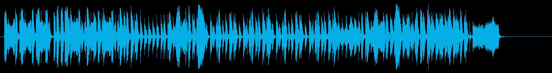 フィンガースナップの効いたアカペラの再生済みの波形