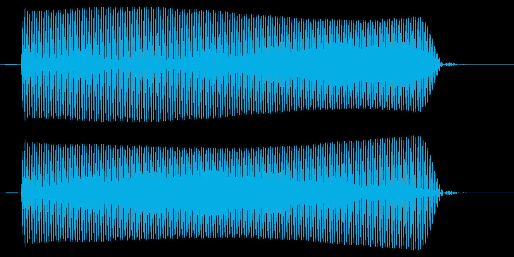 パソコン/選択/ピッの再生済みの波形