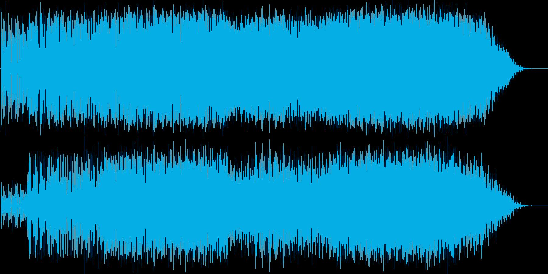 グライダーで滑空しているイメージです。の再生済みの波形