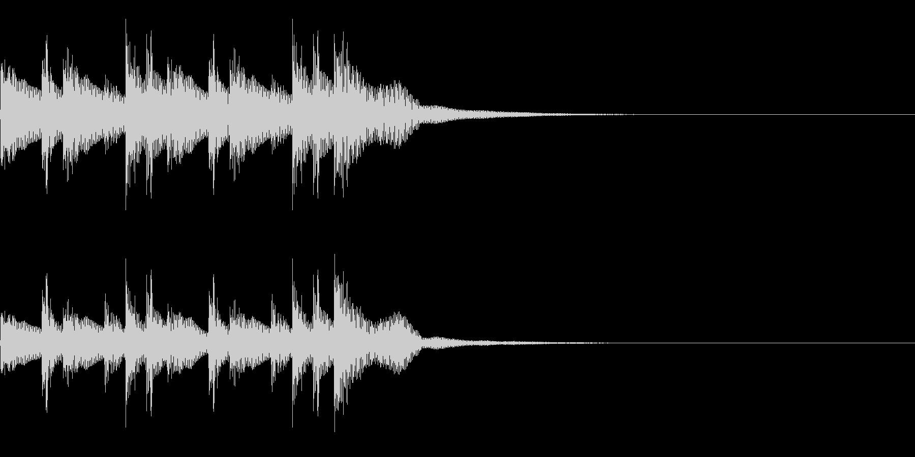コンガ ボンゴ リフ1 キューバの未再生の波形