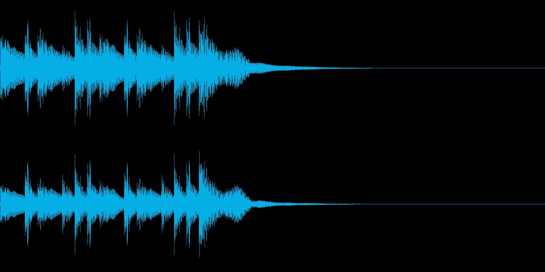 コンガ ボンゴ リフ1 キューバの再生済みの波形