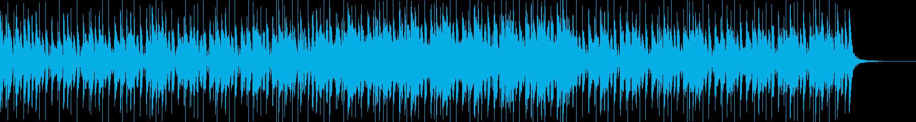 軽い緊迫感のあるファンクの再生済みの波形