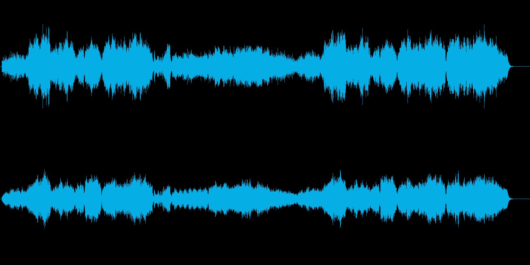 流麗でエレガントなクラシカル風の再生済みの波形