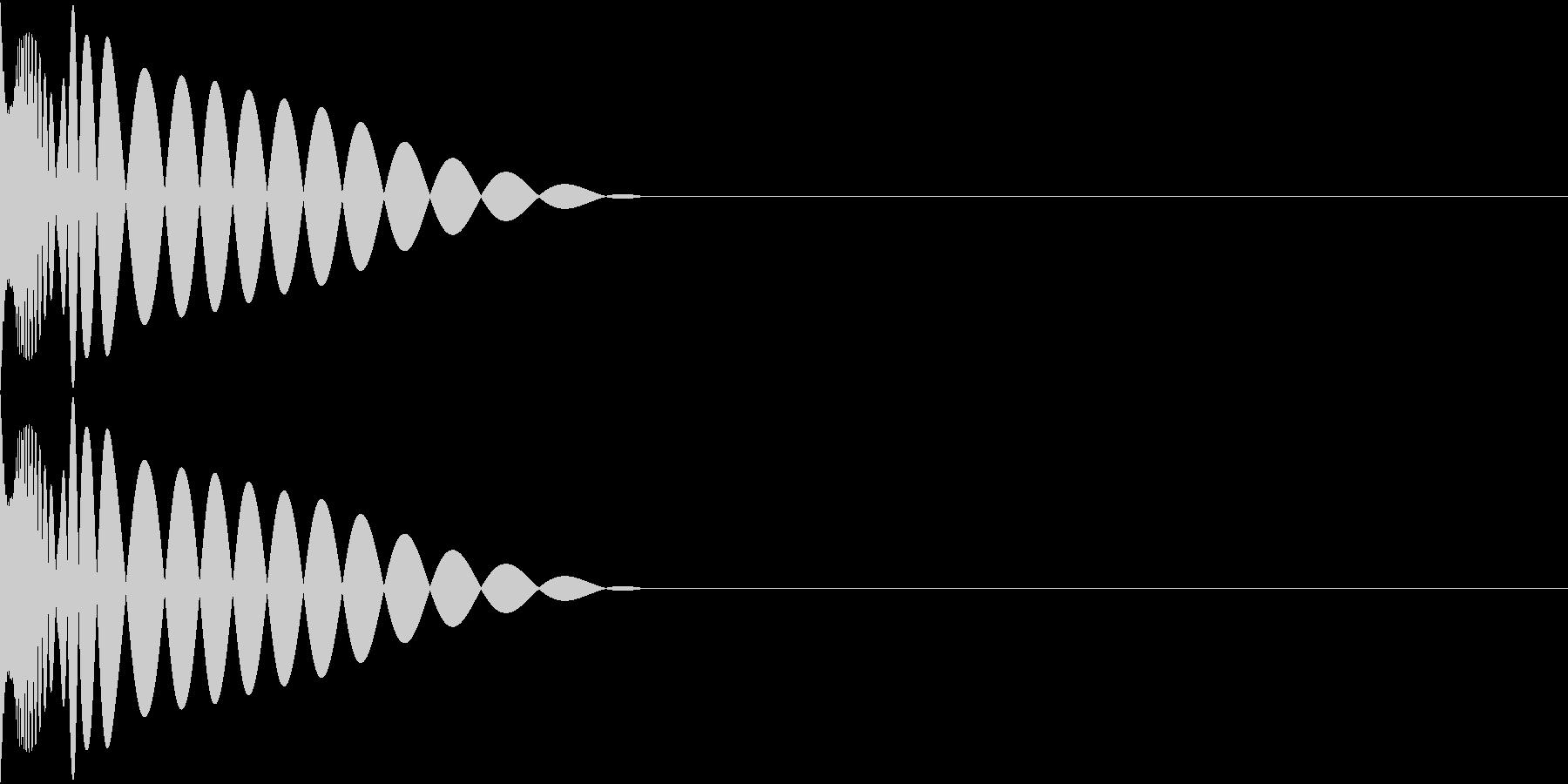DTM Kick 52 オリジナル音源の未再生の波形