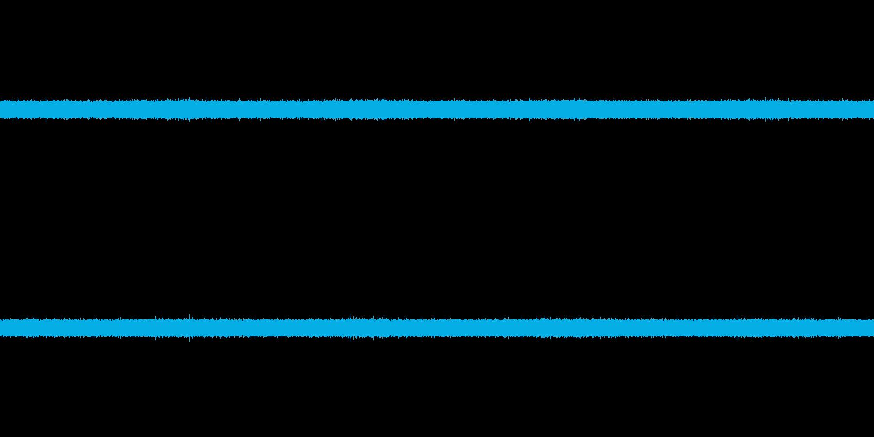 ザー(滝の流れる音)の再生済みの波形