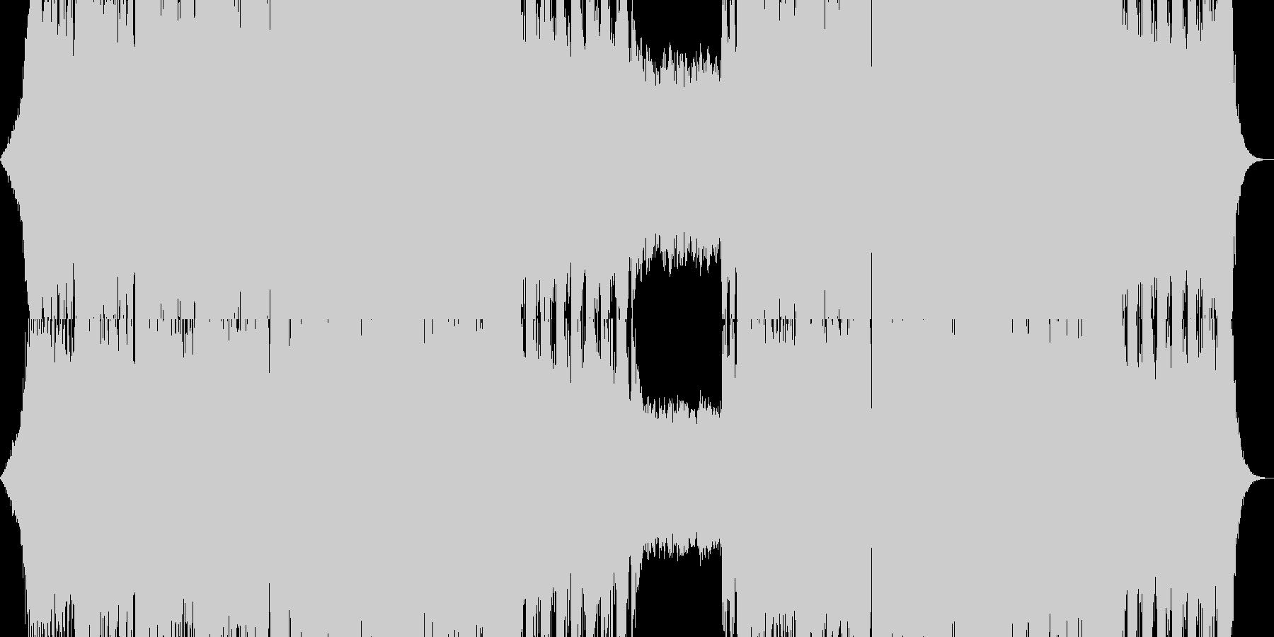 オーケストラ クワイヤー の未再生の波形