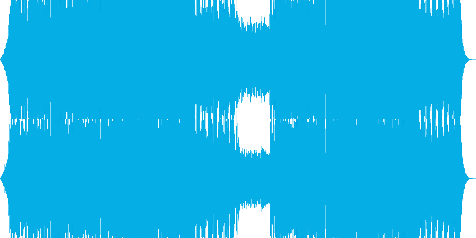 オーケストラ クワイヤー の再生済みの波形