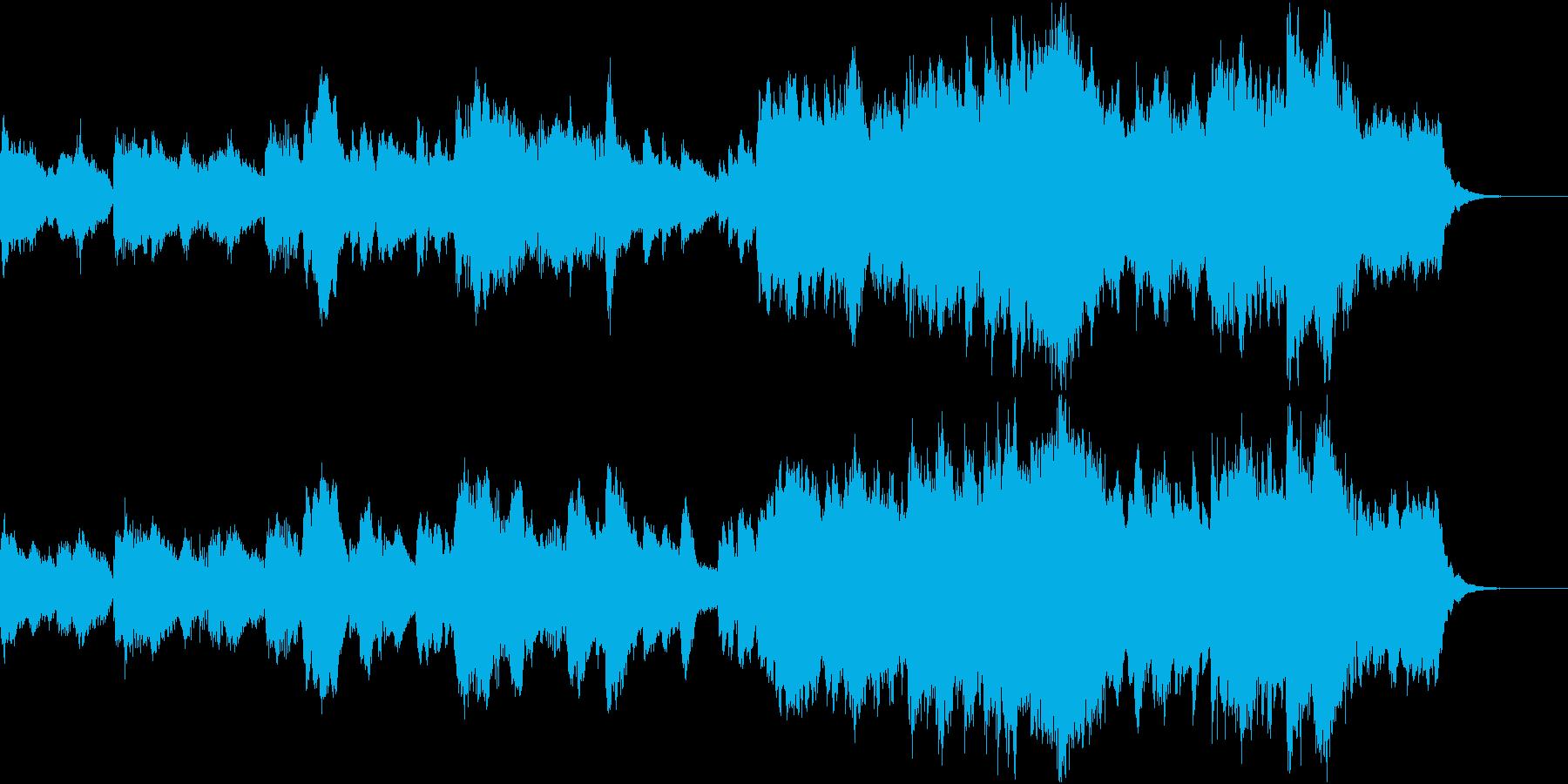 イントロ ジングル オーケストラ風アレンの再生済みの波形