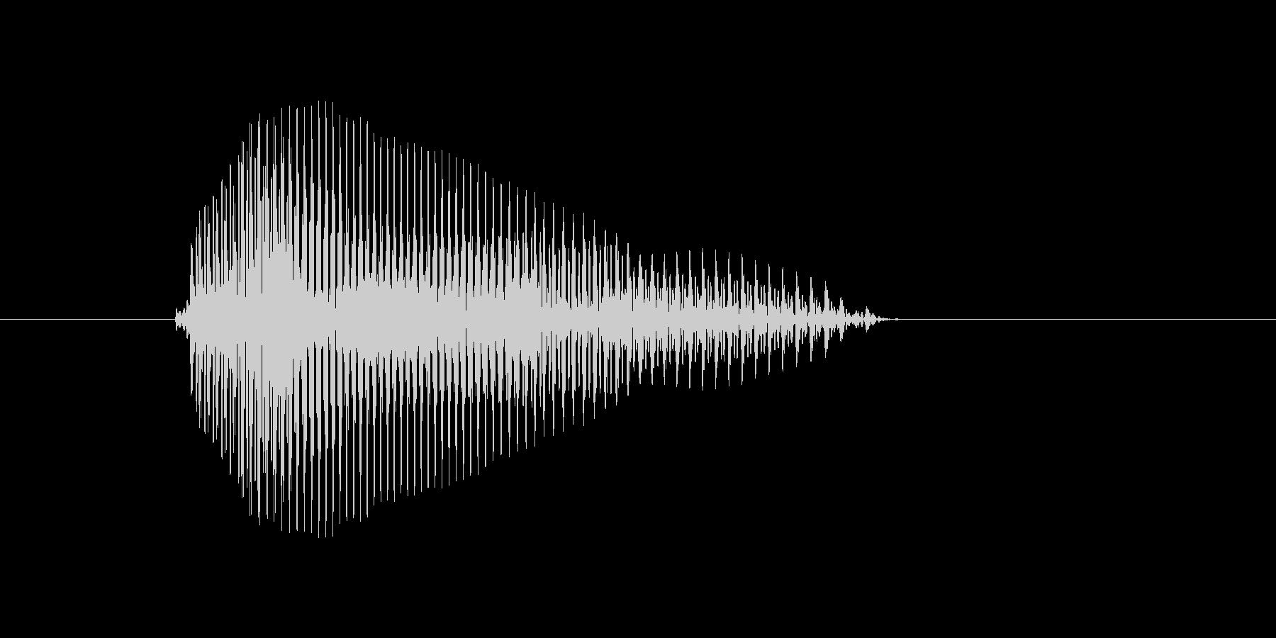 o,O,O(オー)の未再生の波形
