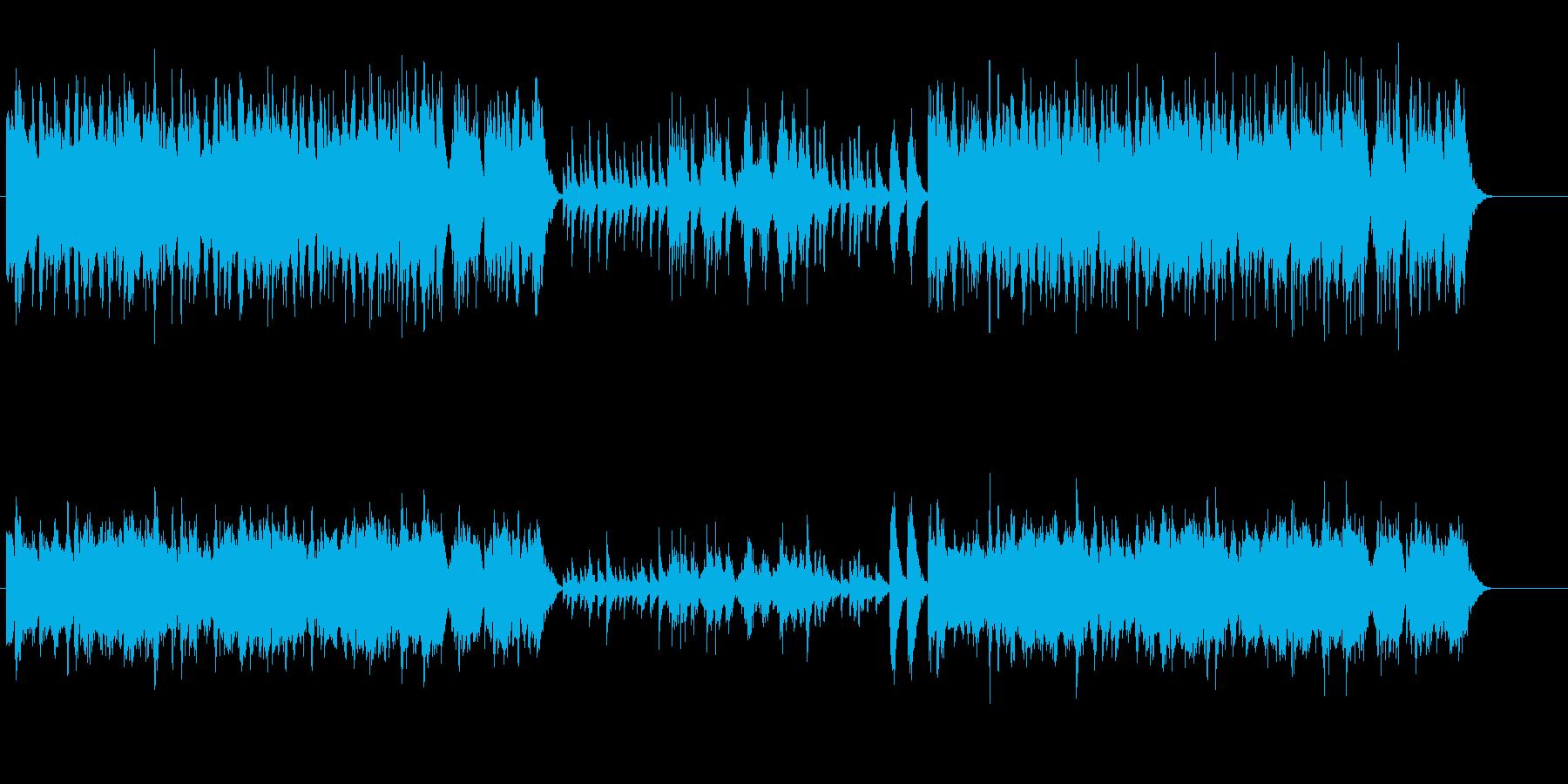 至福感をふりまく中華ミュージック風の再生済みの波形