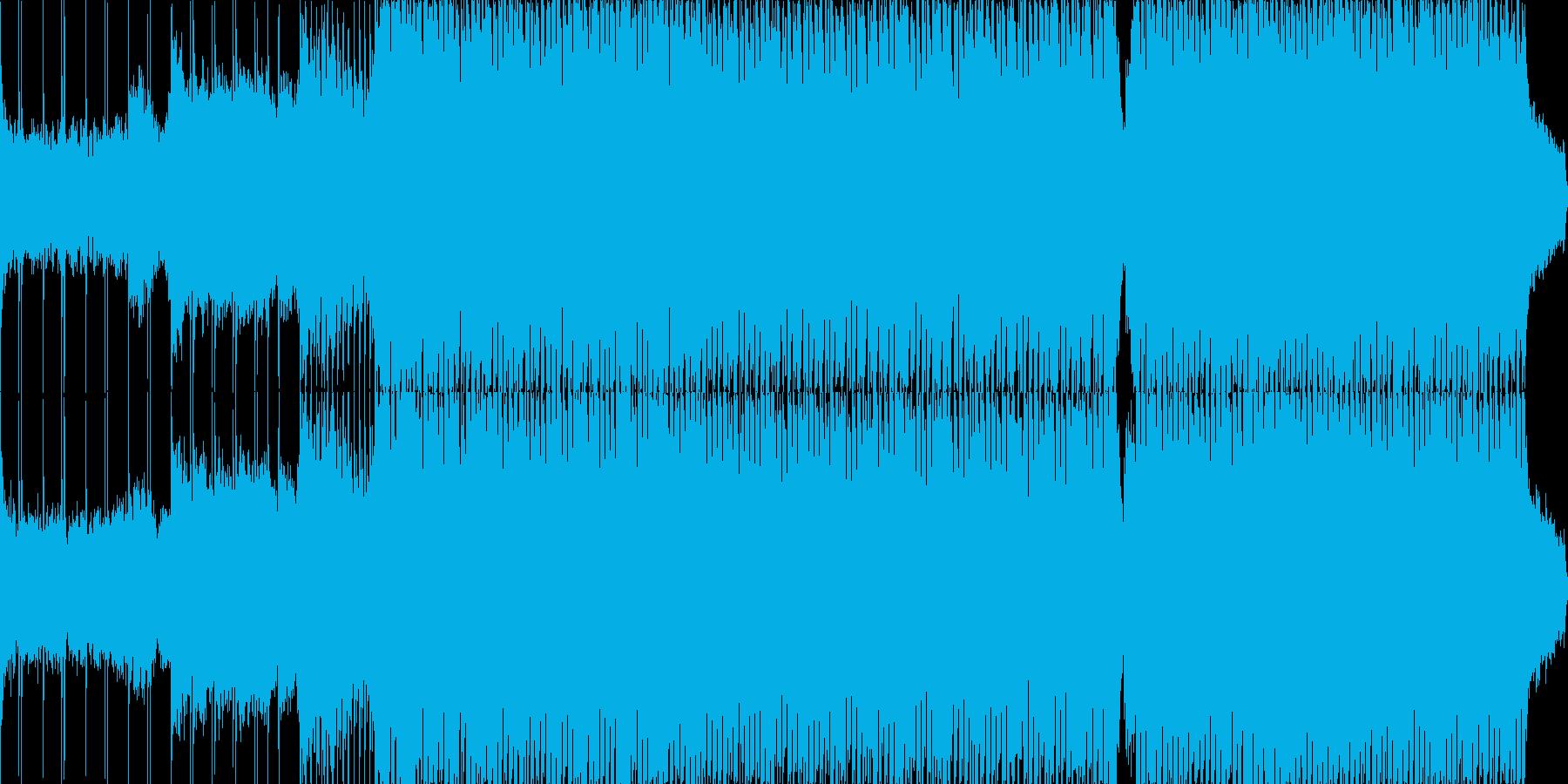 アメイジング・グレイス/テクノアレンジの再生済みの波形