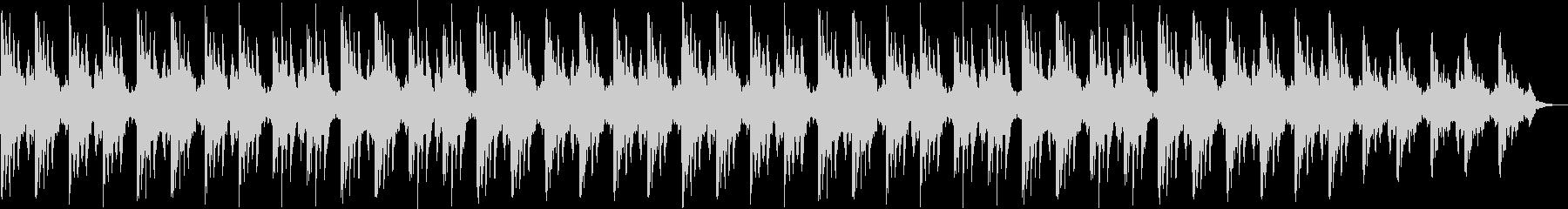 切ない印象シンセサイザーサウンドの未再生の波形
