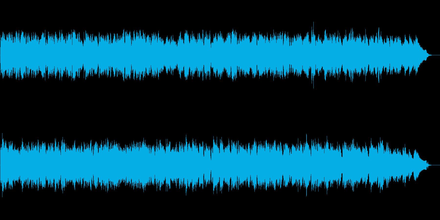 甘く切なく美しいメロディのクラシック曲の再生済みの波形