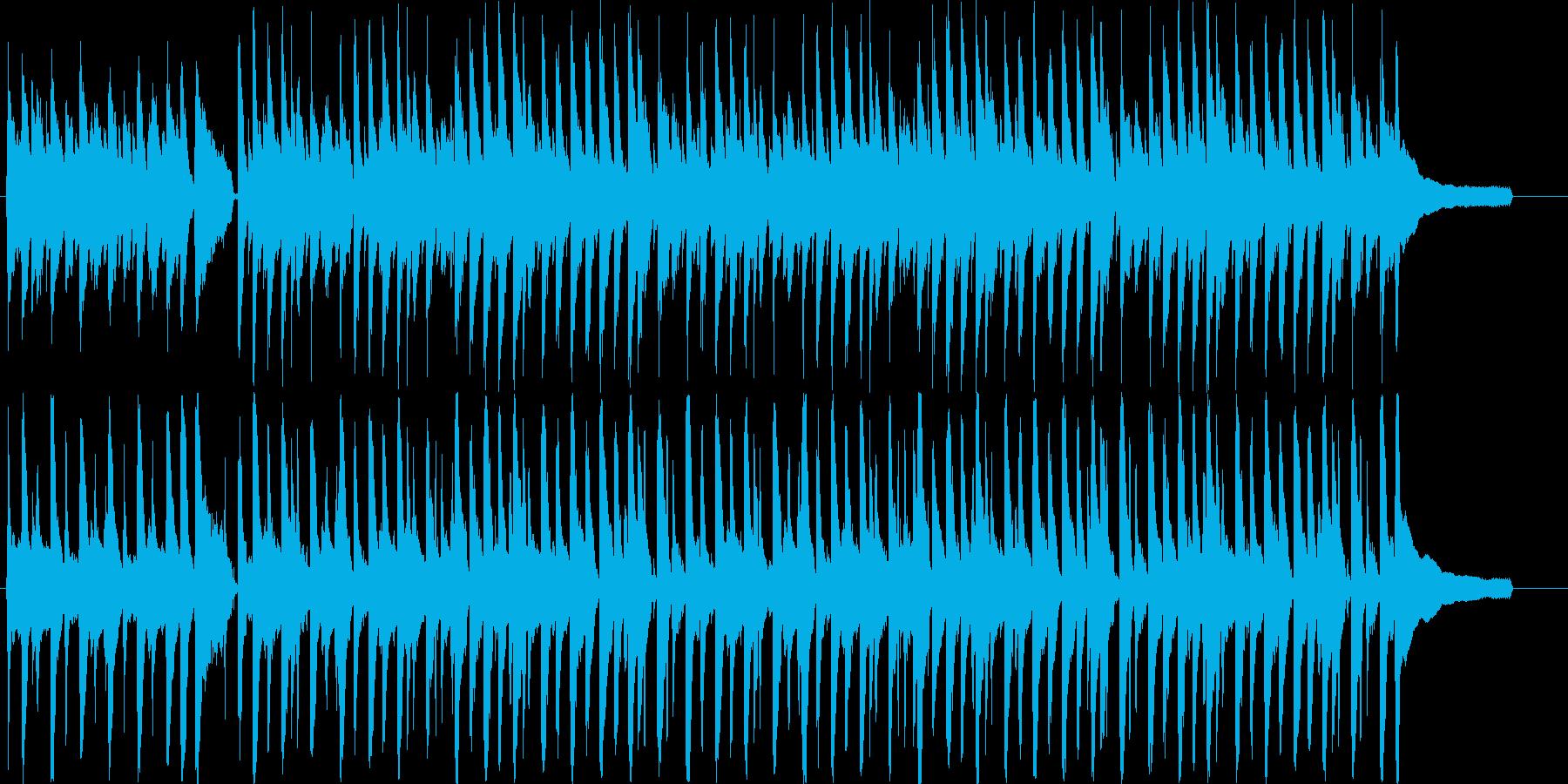 ほのぼの明るいアコースティック音楽♪の再生済みの波形