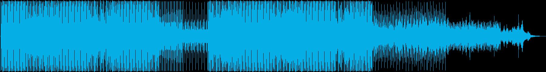 妖艶な雰囲気のダンスミュージックの再生済みの波形