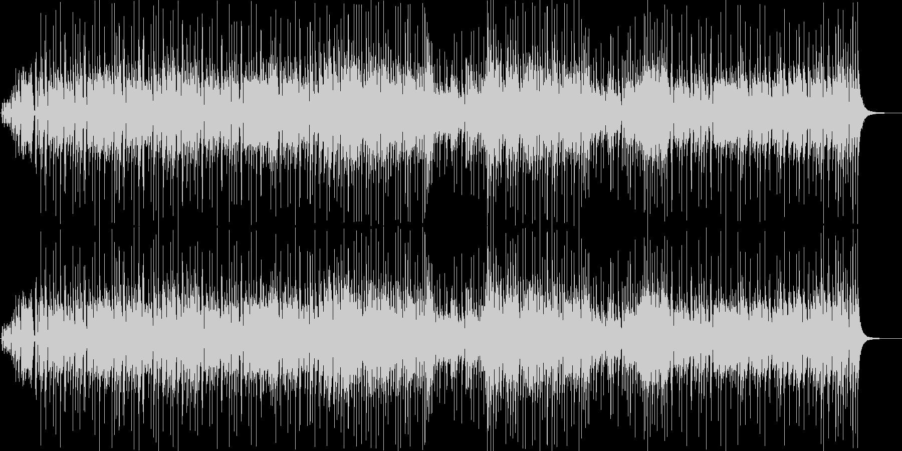 ジ・エンターテイナーのポップアレンジ曲の未再生の波形