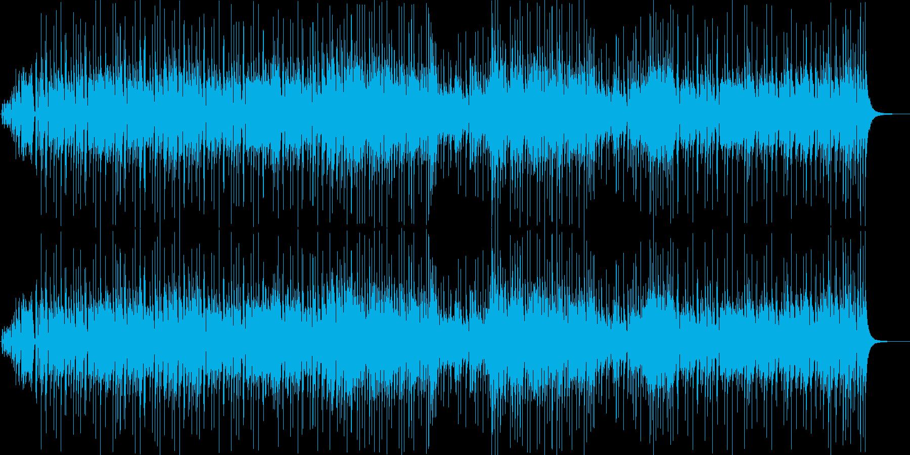 ジ・エンターテイナーのポップアレンジ曲の再生済みの波形