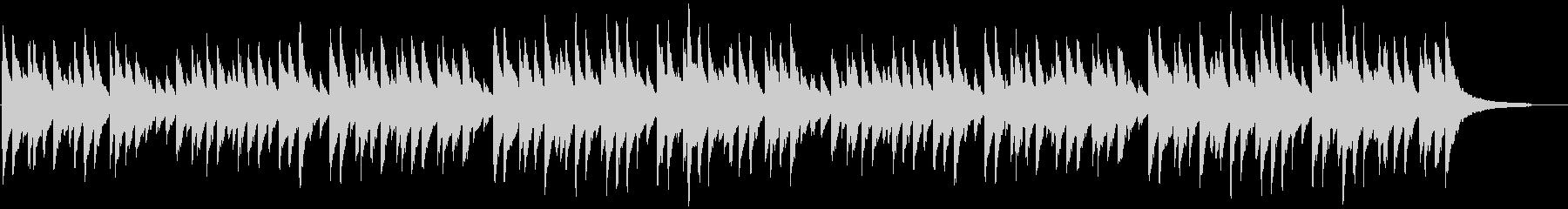 「蛍の光」 ピアノ伴奏の未再生の波形