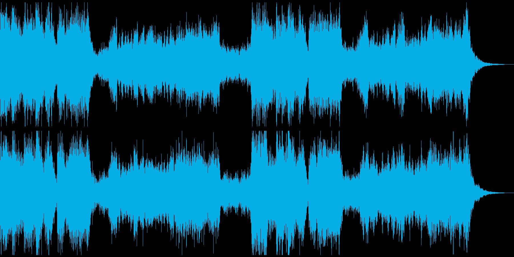 CMや映画、ゲームなどでよく聴くあの曲の再生済みの波形