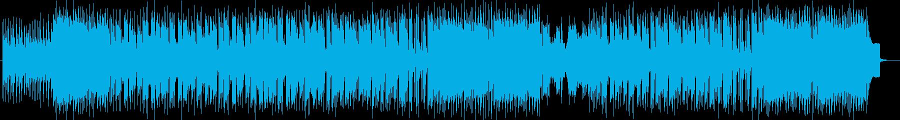 軽快で疾走感が特徴のストリングスポップスの再生済みの波形