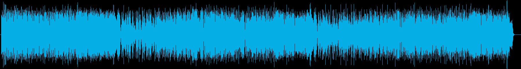 晴ればれとした明るいトランペットサウンドの再生済みの波形