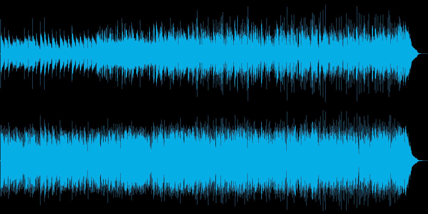 パッヘルベルのカノンJazzの再生済みの波形