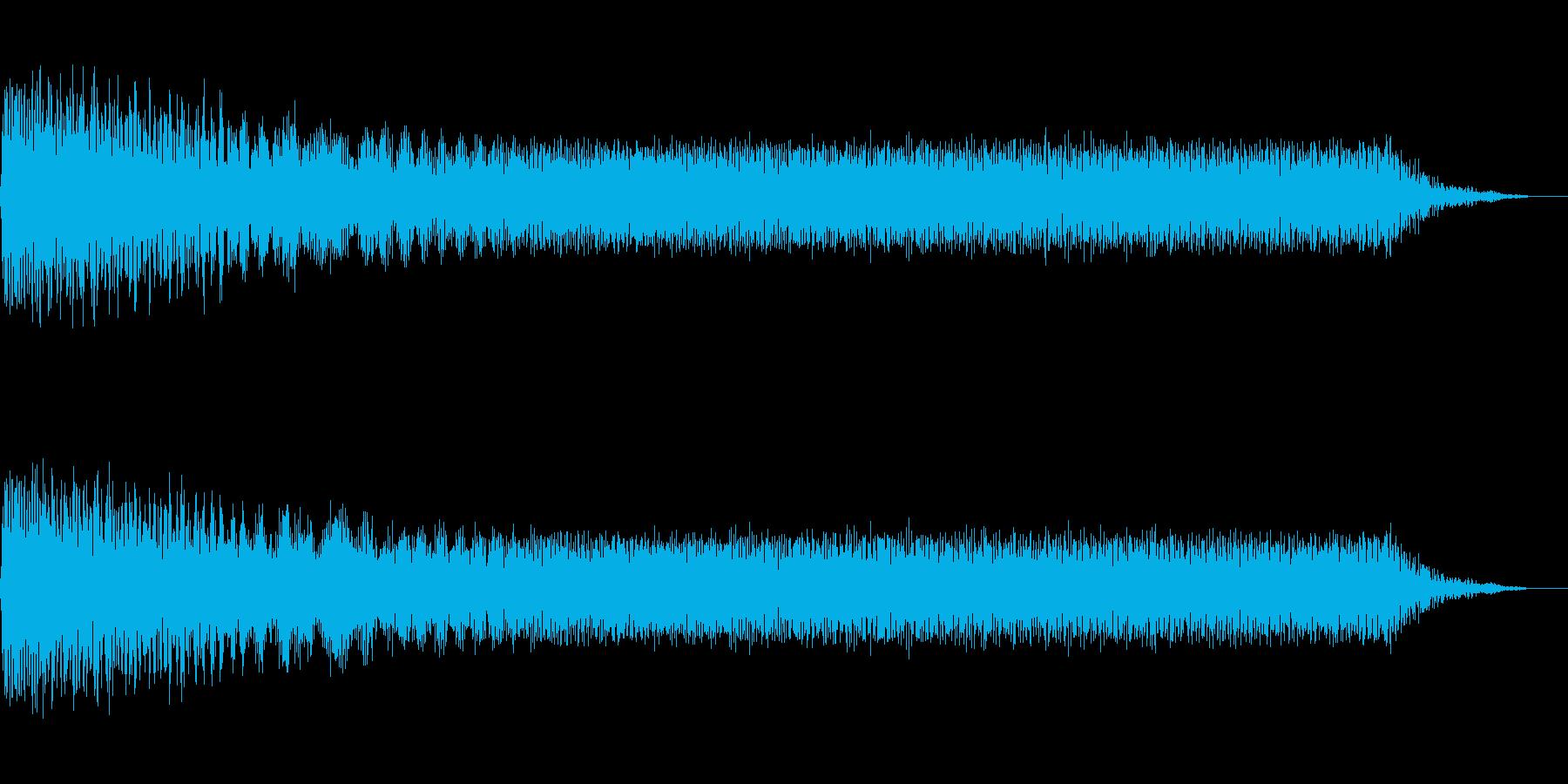 出力低下・ブレーカーダウンの再生済みの波形