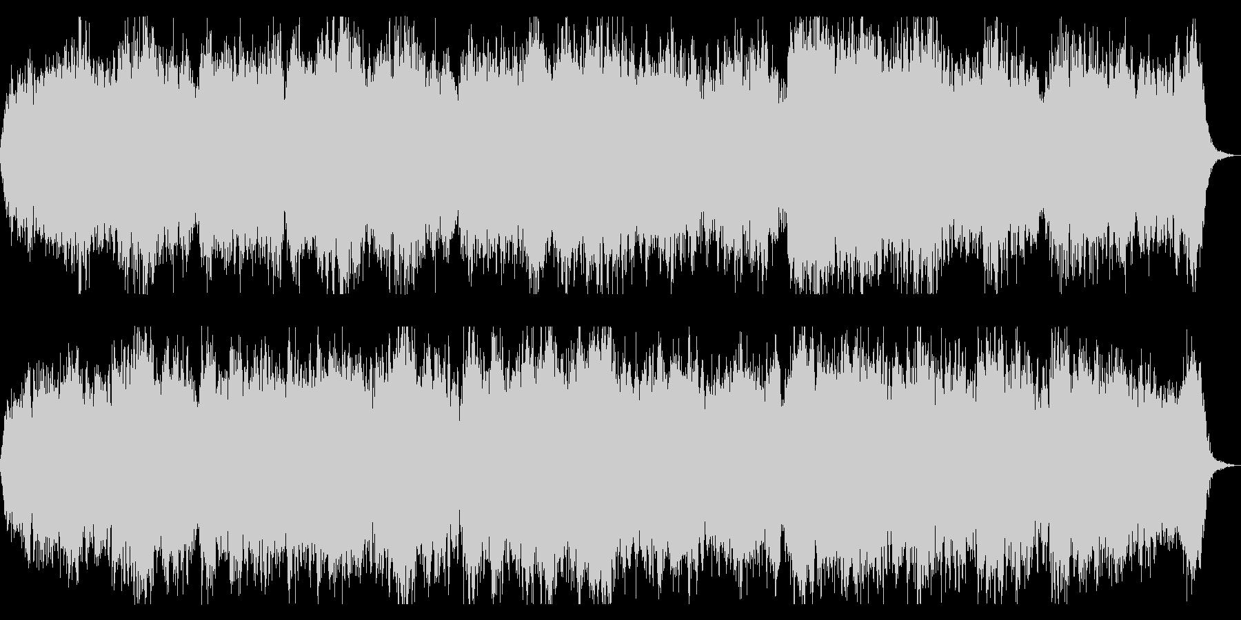 奈落をイメージしたダークアンビエントの未再生の波形