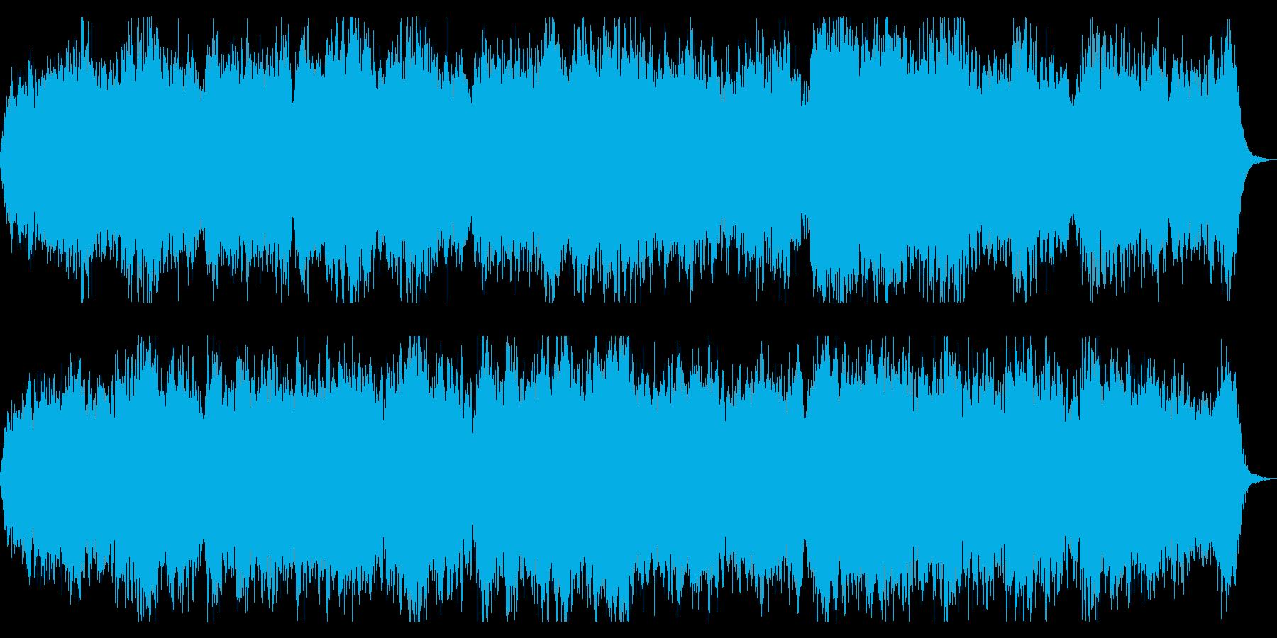 奈落をイメージしたダークアンビエントの再生済みの波形
