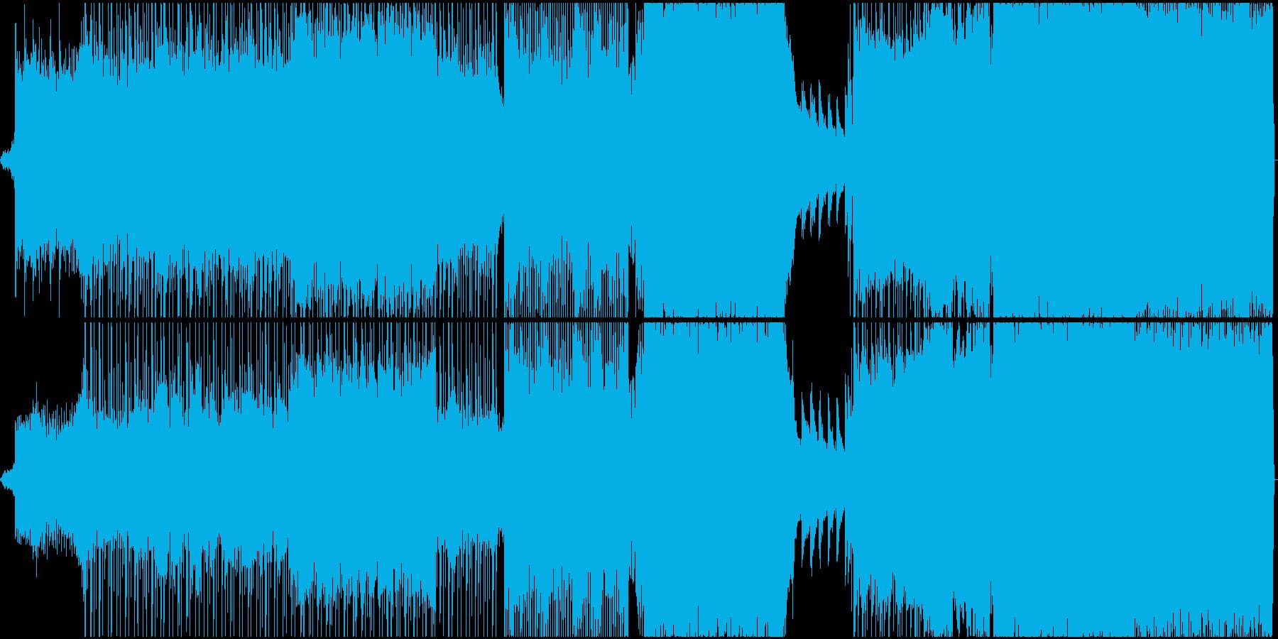 ギターアルペジオで始まる切ない系ロックの再生済みの波形