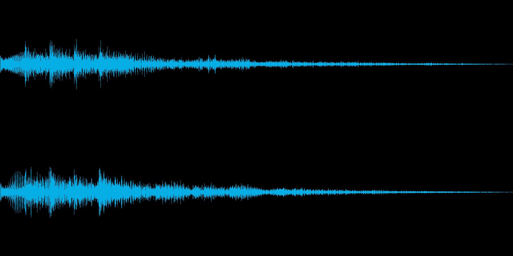 メニュー系SE 決定音10の再生済みの波形