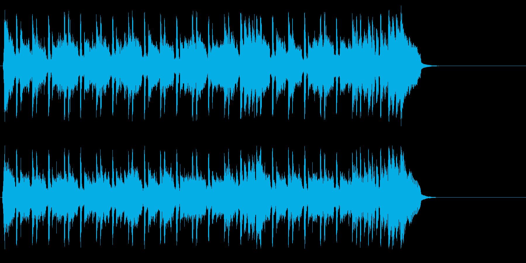 ちょっぴり切ないポップ(イントロ~エ…)の再生済みの波形