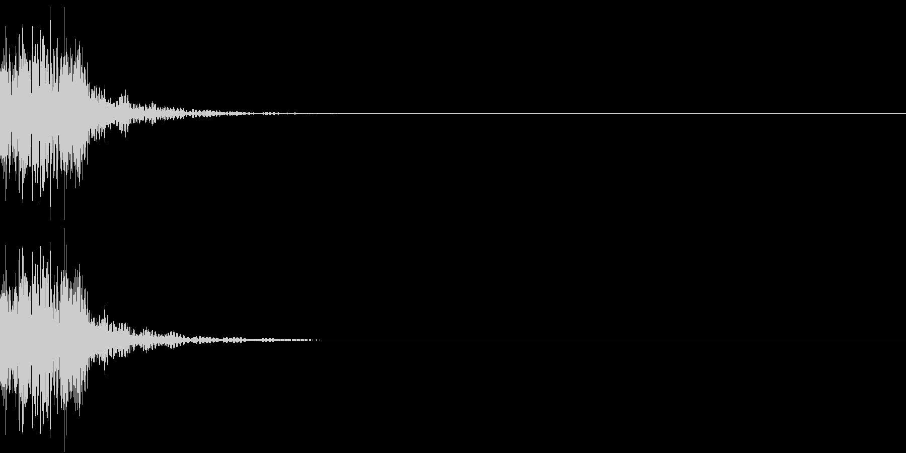 KAKUGE 格闘ゲーム戦闘音 43の未再生の波形