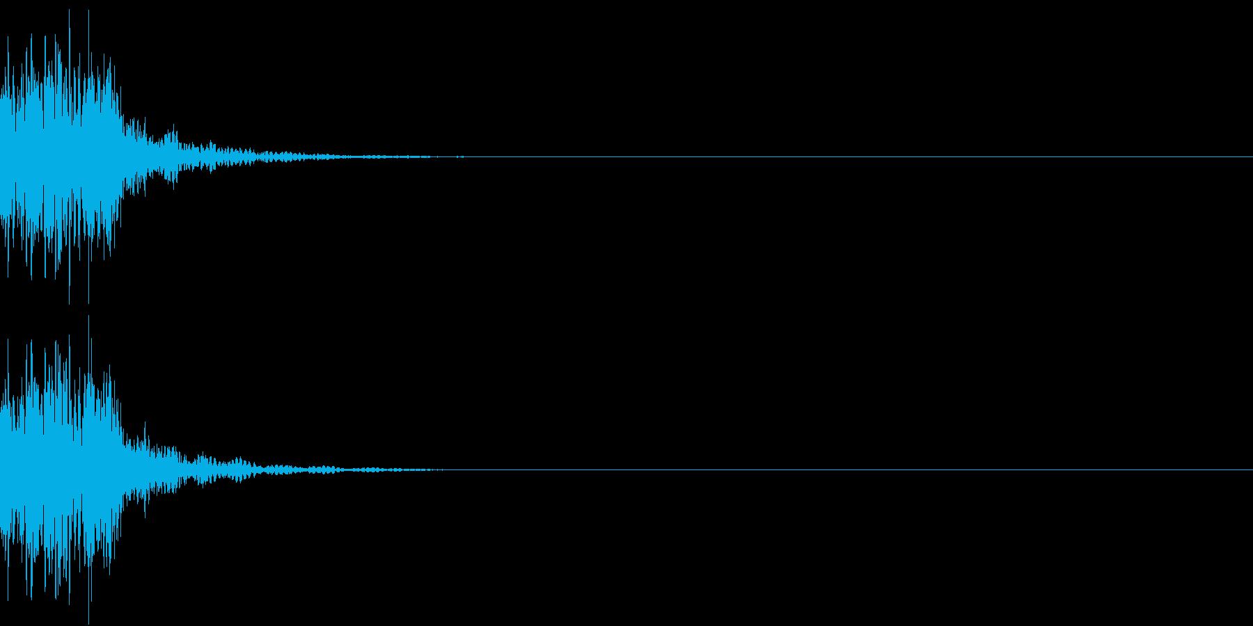 KAKUGE 格闘ゲーム戦闘音 43の再生済みの波形