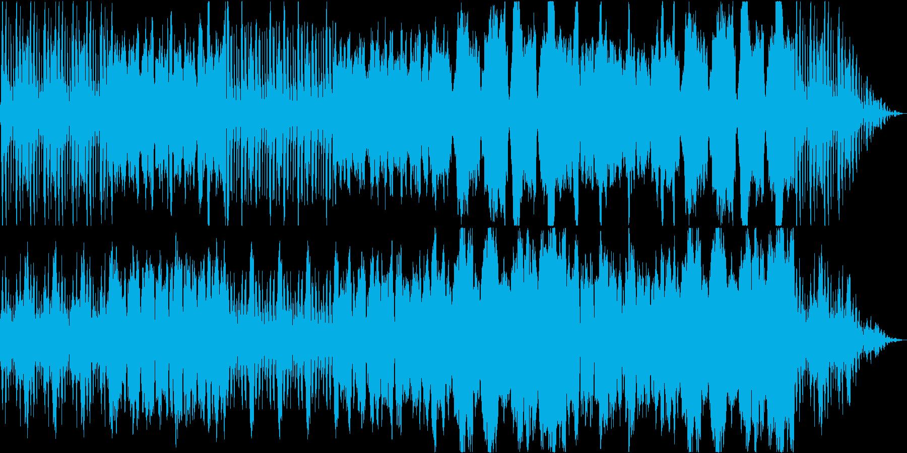 ほのぼのしたホルンの楽曲の再生済みの波形