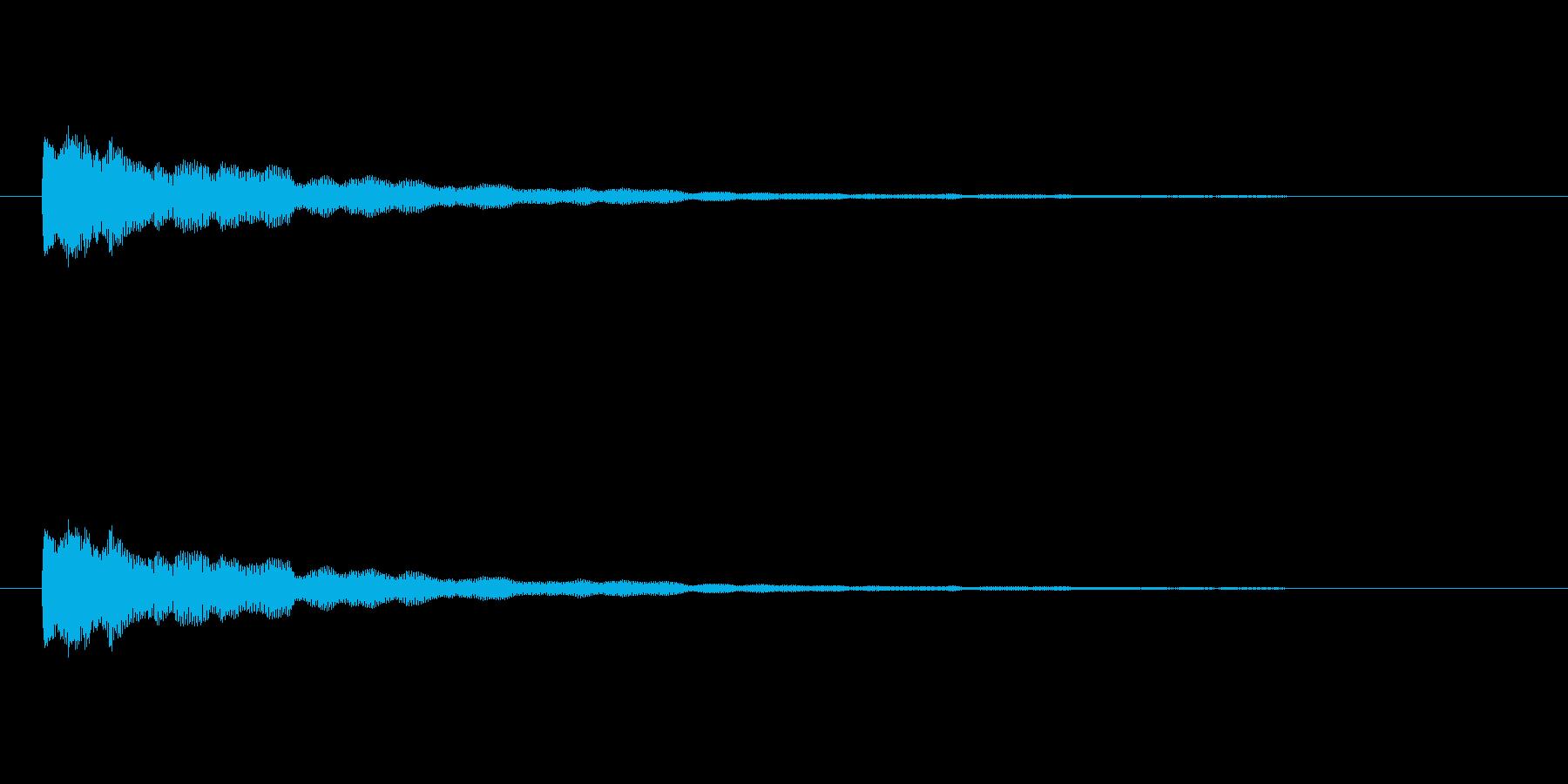 【ひらめき10-1】の再生済みの波形