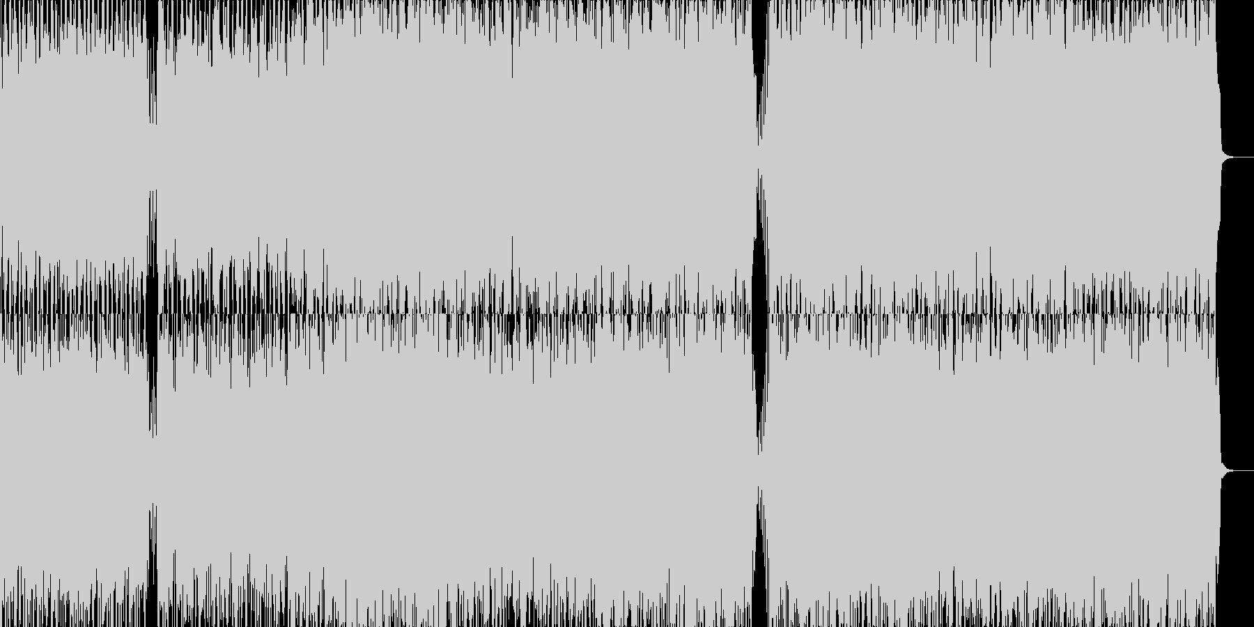 サスペンス・シリアス系BGMの未再生の波形