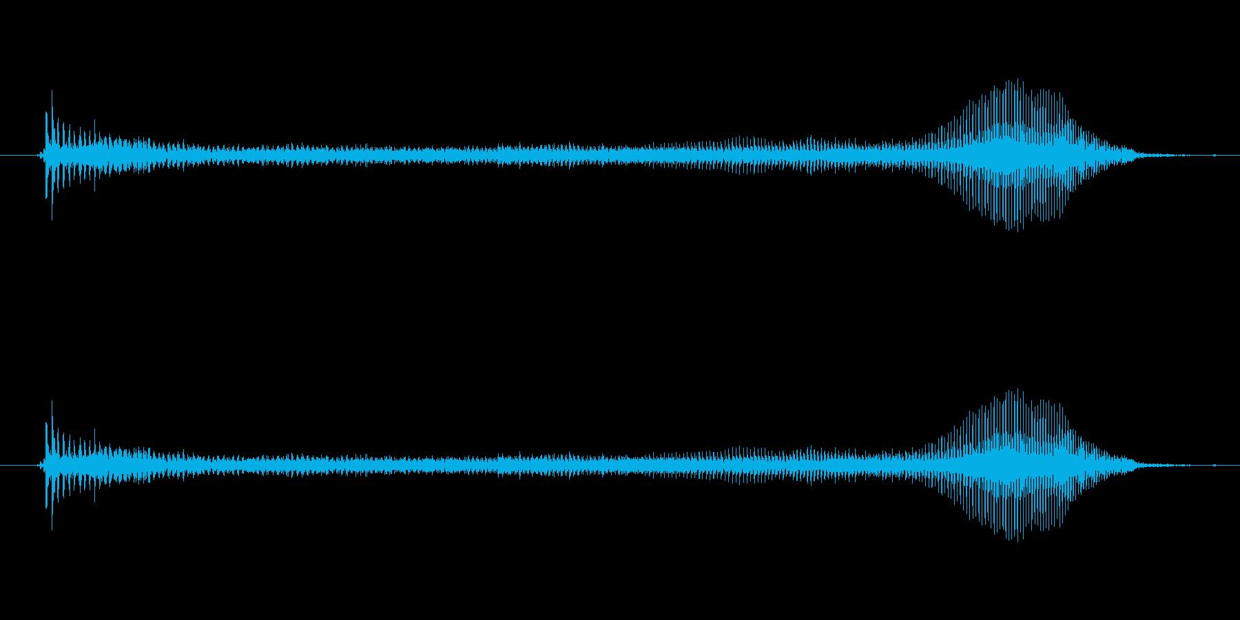 うーっ↑(子供)【掛け声・溜め】 の再生済みの波形