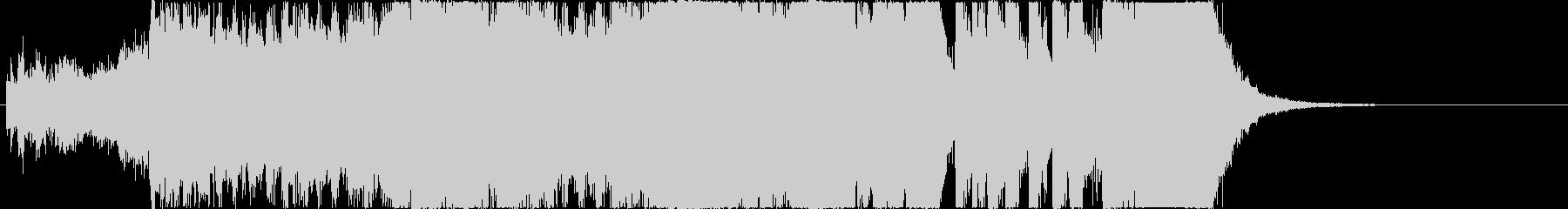 イベントオープニングジングル2の未再生の波形
