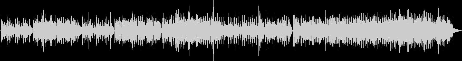 フュージョン系モダンなジャズギターポップの未再生の波形