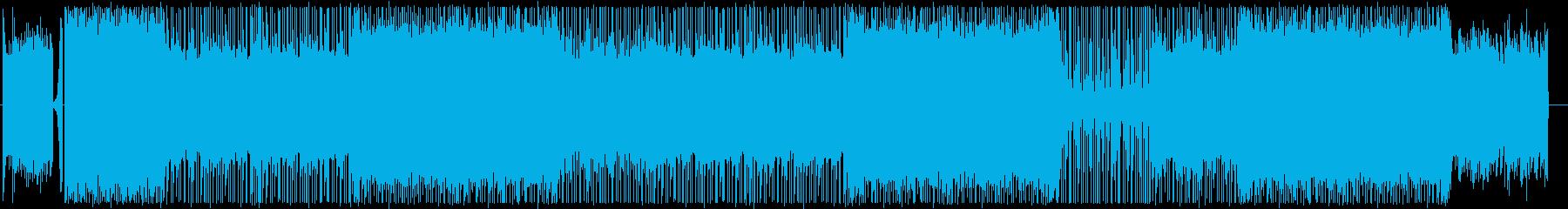 ピアノ/ヒップホップ/サイバー/#2の再生済みの波形