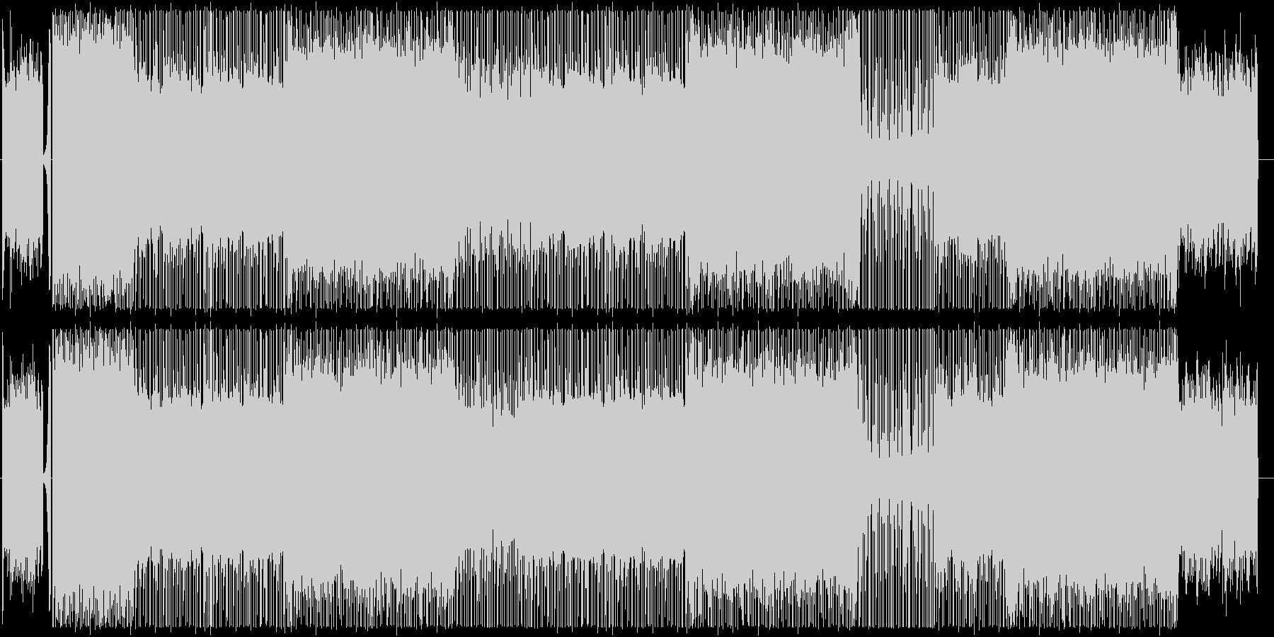 ピアノ/ヒップホップ/サイバー/#2の未再生の波形